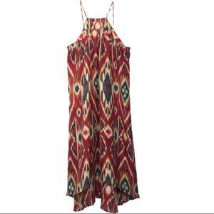 anthropologie saturday sunday dress silk dress